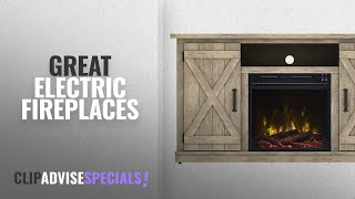 Top 10 Comfort Smart Electric Fireplaces [2018] | New & Popular