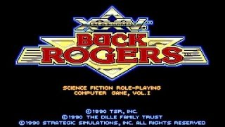 Buck Rogers gameplay (PC Game, 1990)