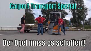 Wir quälen Vadderns Opel Astra G! Ein waghalsiges Experiment ... #Billig #Carport #Opel