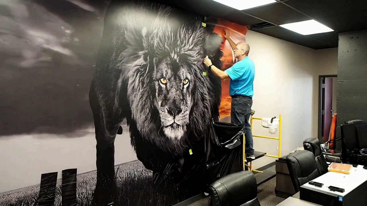 Creative Source Wall Graphics Installation
