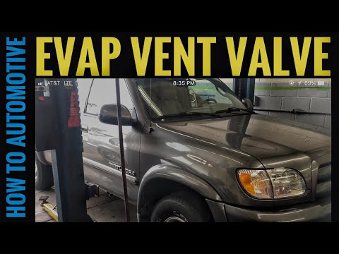 How to Replace the Evap Vent Valve on a 2003 Toyota Tundra