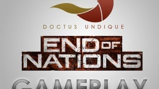 End of Nations closed beta test Gameplay