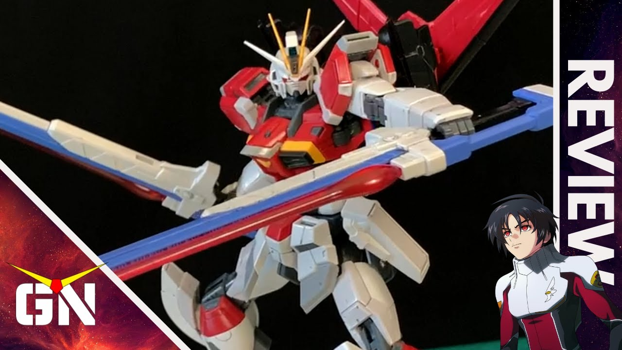 Top Tier Model Kit PBandai RG 1/144 Sword Impulse Gundam   REVIEW