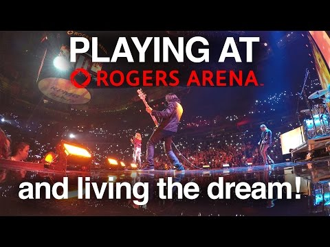 Download Youtube: PLAYING AT ROGERS ARENA - NEVER GIVE UP ON YOUR DREAMS