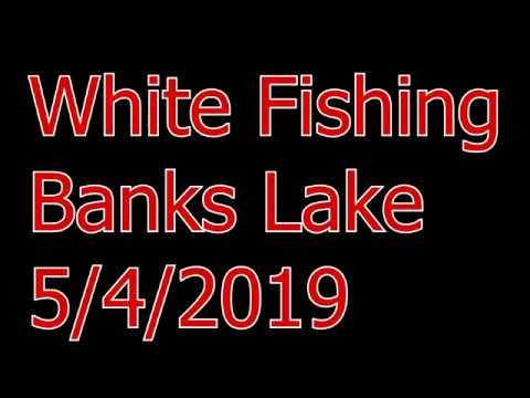 Banks Lake White Fishing