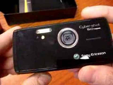CellulareMagazine.it Unboxing SonyEricsson 850i Eng