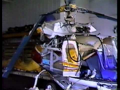 1991 aircraft accident investigation raw footage from Maui, Hawaii