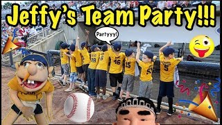 Jay-Fee's Tee-Ball TEAM PARTY!!!!!