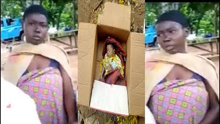 BREAKING: S@D AFIA GAVE BIRTH AFTER 20MIN SHE RUN AWAY FROM THE HOSPITAL AND TROW THE BABY AWAY