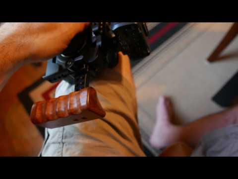CAMVATE DSLR Wooden NATO Handle Grip Review