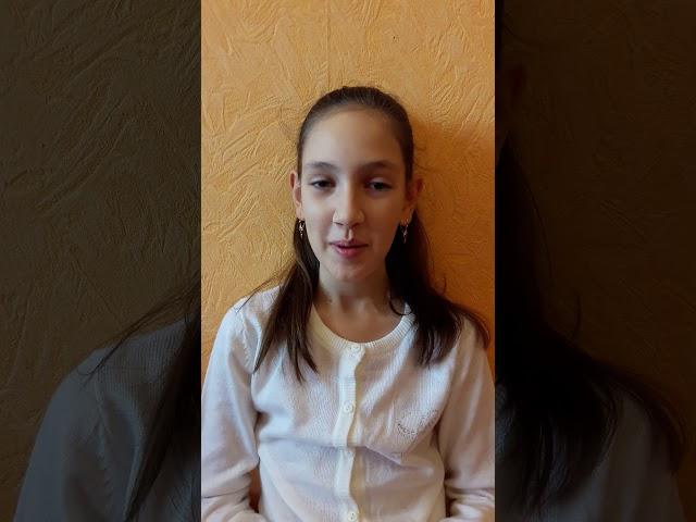 Изображение предпросмотра прочтения – АнгелинаКрасикова читает произведение «Мирок» М.И.Цветаевой