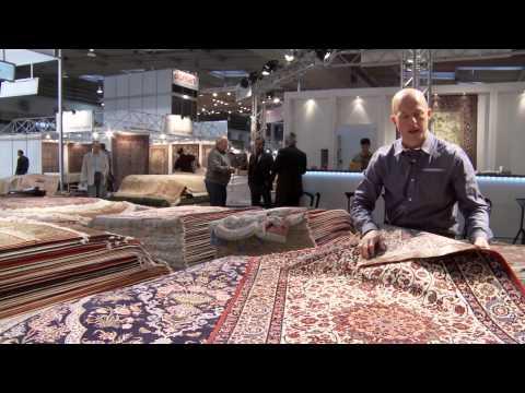 Ægte persiske tæpper fra byen Isfahan / Esfahan i Iran / Persien. Belle Carpets & Rugs