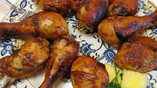Betty's Oven-barbecued Chicken Drumsticks