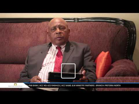 DR. Apostle BW Makwakwa - Defining Righteousness
