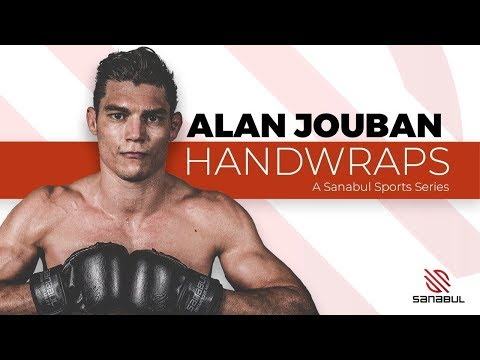 Best Way To Wrap Your Hands For MMA Boxing Or Kickboxing By Alan Jouban  | A Sanabul Sports Series