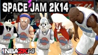 Space Jam 2 (2017) - The Ultimate Game - NBA 2K17 2K16 2K15 Mod HD