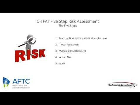 CTPAT Five Step Risk Assessment webinar
