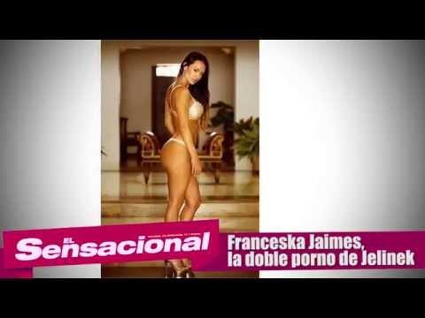 Ella es Franceska Jaimes, la doble super hot de Jelinek