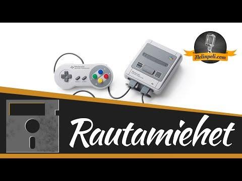 Nelinpeli - RAUTAMIEHET - Nintendo Classic Mini: Super Nintendo Entertainment System