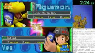 Digimon Digital Card Battle - Any% Speedrun 4:09:54