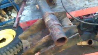 ремонт торсіонної (резино-джгутової) підвіски. піскоструминний Компресор Atlas Copco XAS85