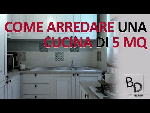 COME ARREDARE una CUCINA di 5 MQ | Belula Design
