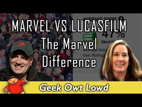 Marvel VS Lucasfilm - The Marvel Difference