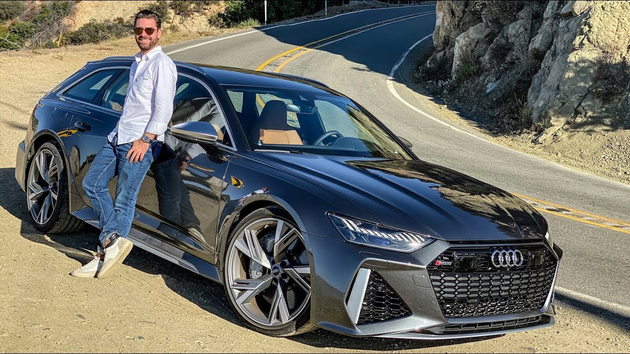 New Audi Rs6 Avant 2020 First Drive Youtube