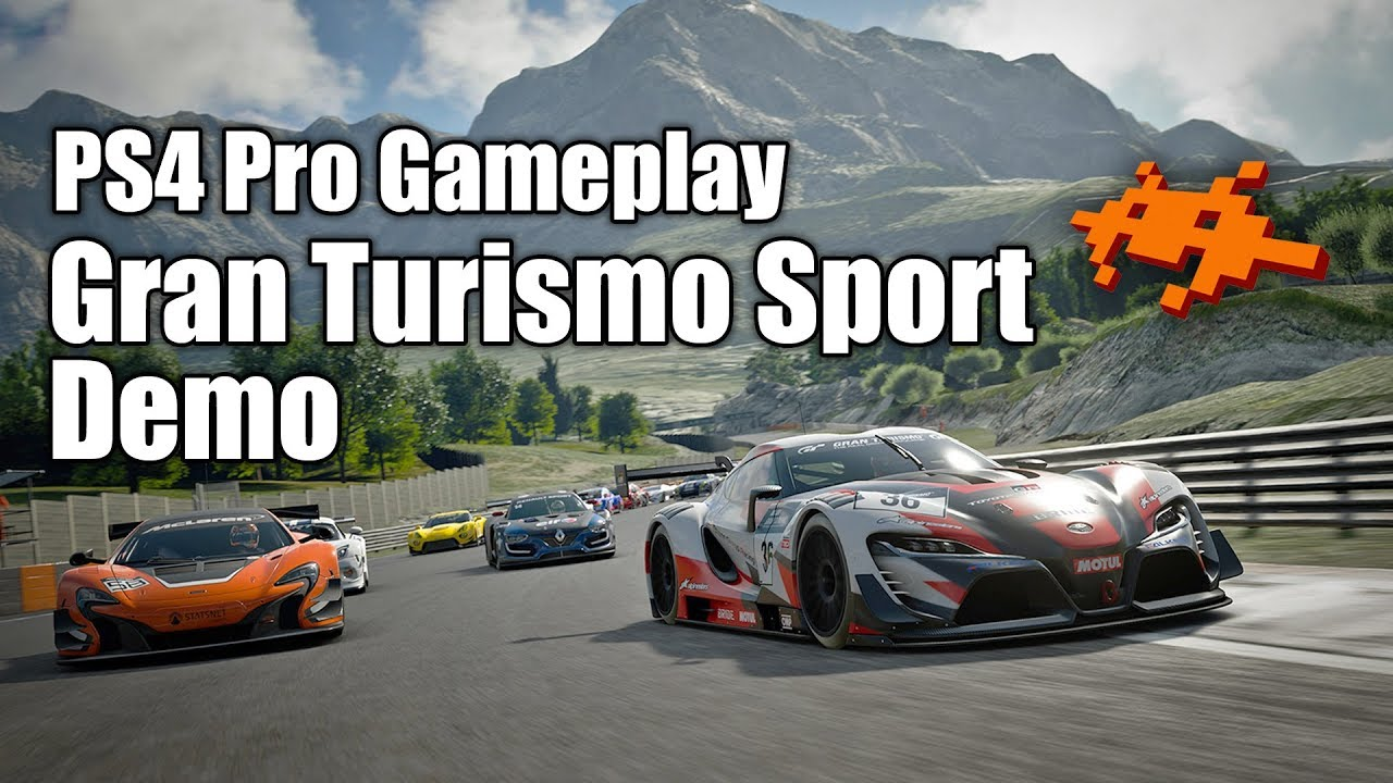 gameplay gt sport demo ps4 pro gran turismo deutsch youtube. Black Bedroom Furniture Sets. Home Design Ideas