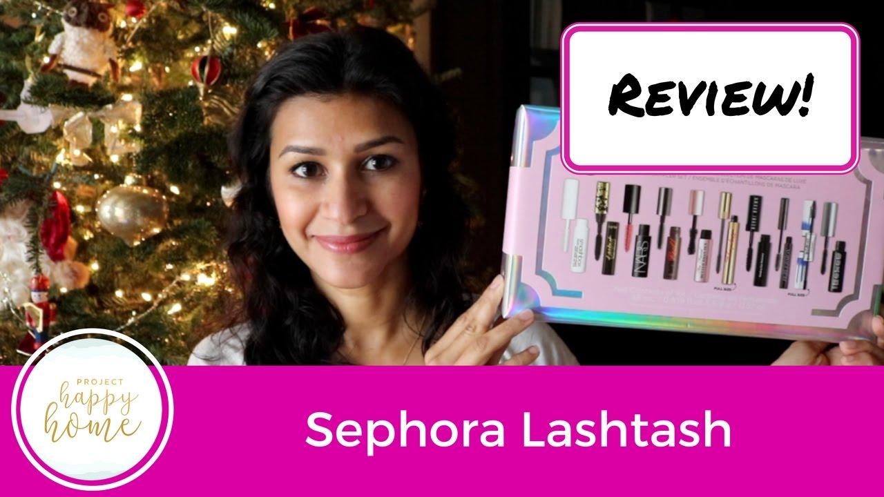 Best Mascara of 2016    Sephora Lashstash Review - YouTube