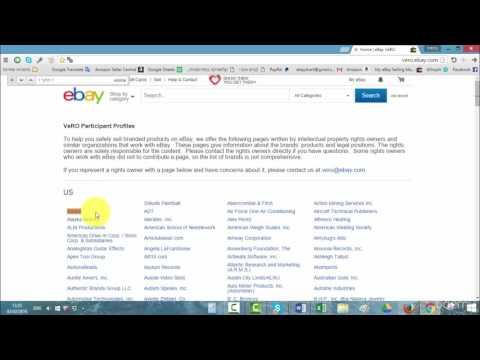 007 EBay vero list   intellectual property rights owners and how to avoid them - DropShipping From A