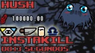 Cómo matar rápido a HUSH | ESCUDO DE HUSH Y GREED  ( overkill / Instakill ) | TRAMBOLIKOMBOS