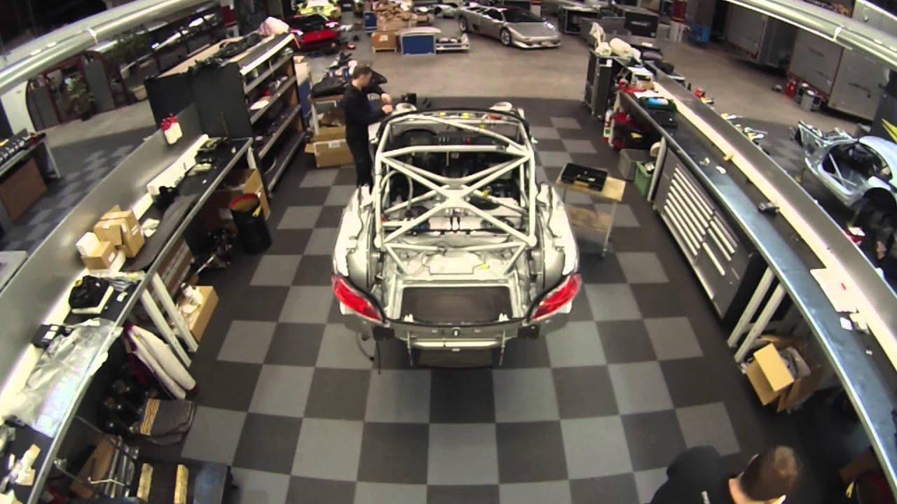 Bmw Z4 Gt3 Car Build Youtube