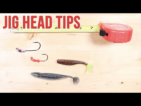 How To Choose The Best Jig Head For Different Lures
