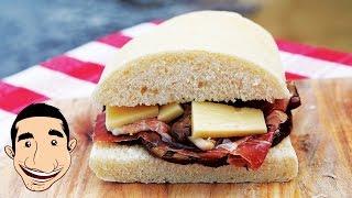 Homemade Italian Sandwich | Italian Panini Recipe
