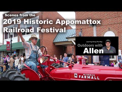 2019 Historic Appomattox Railroad Festival