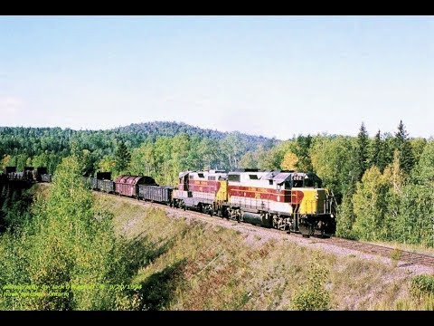 Algoma Central RWY, freight operation  Part 1. September 1994