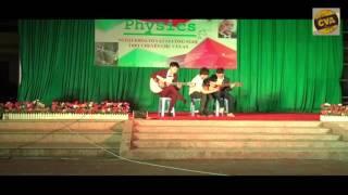 Song tấu guitar Tình ca du mục - Ngoại khoá Tổ Vật lý - Công nghệ - THPT chuyên Chu Văn An Lạng Sơn
