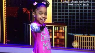 Affirmations ! 4 year old Pe'Tehn performs new poem called Affirmations on WCL