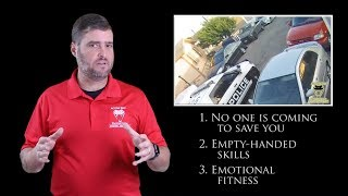 Wanted Man Refuses Officer's Orders | Active Self Protection
