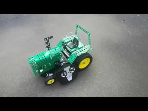 Tronico Metallbaukasten RC Traktor 1:24 Junior Serie Oldtimer Bautz DIY Metal Construction Kit