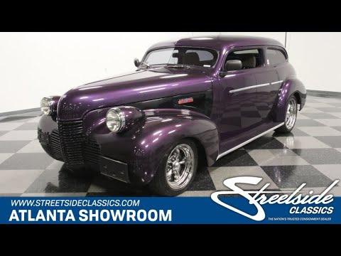 1940 Chevrolet Sedan Streetrod For Sale   5109 ATL