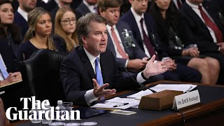 Brett Kavanaugh faces tough questioning on abortion