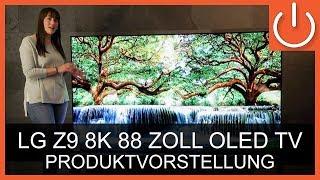 "LG OLED88Z9 - Unboxing / Produktvorstellung - LG 88"" OLED 8K TV - Thomas Electronic Online Shop"