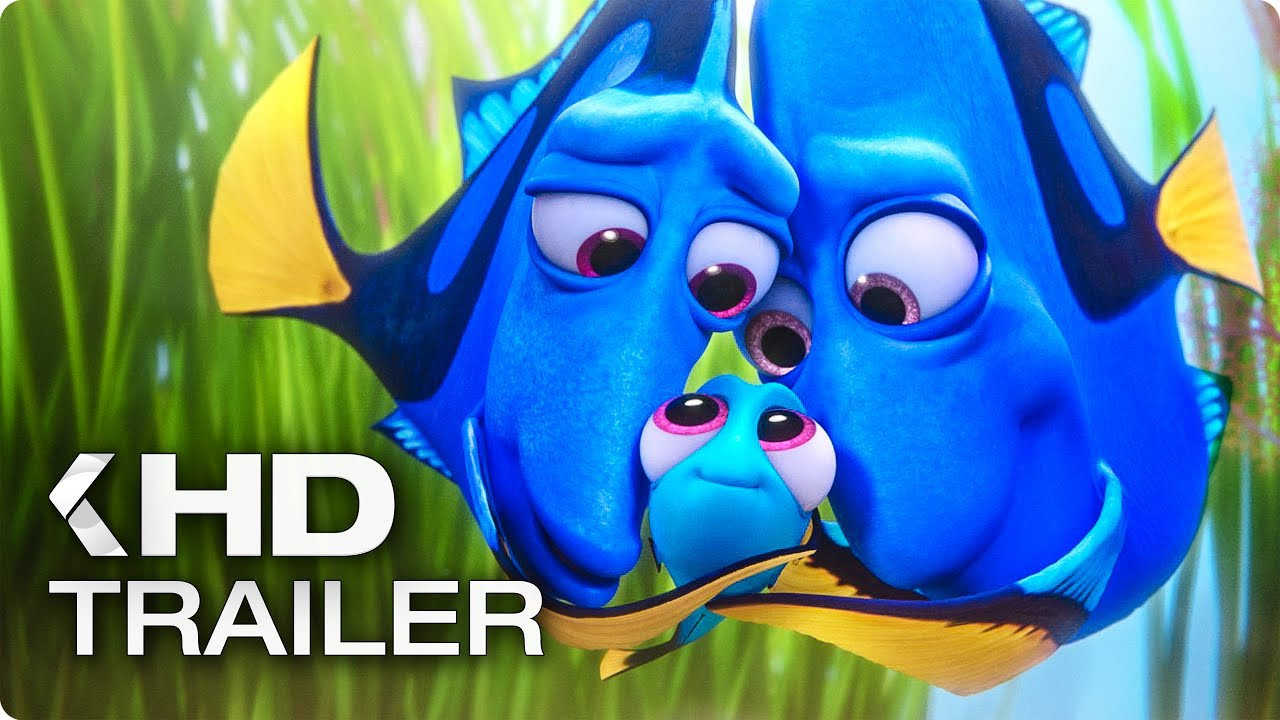 Finding Dory All Trailer Amp Clips 2016 Youtube