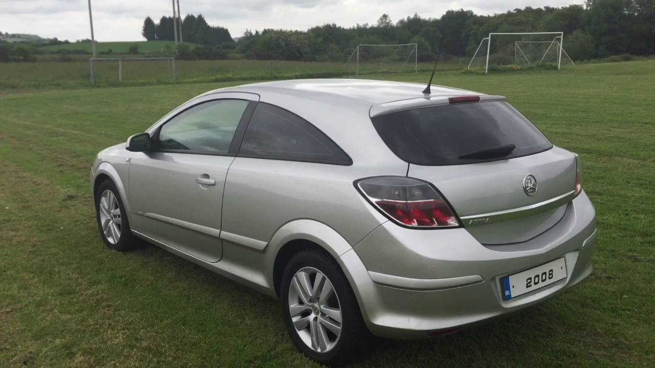 2008 vauxhall astra sxi 1400cc petrol 3 door youtube. Black Bedroom Furniture Sets. Home Design Ideas