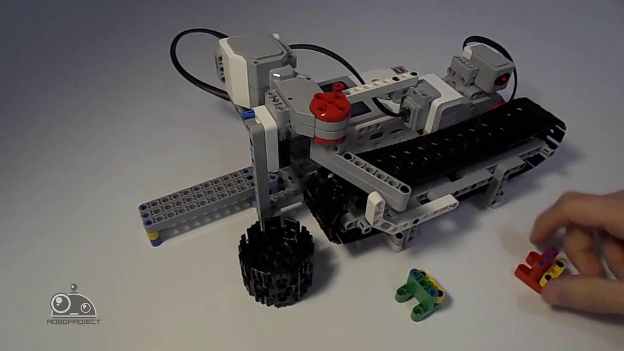 конвейер lego mindstorms