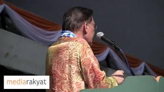 Anwar Ibrahim Ulasan Belanjawan 2013