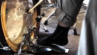 Быстрая игра ногами Мастер-класс барабанщик Мастера