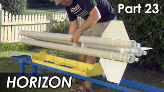 2 Stage Water Rocket - Part 23 - Launcher Complete